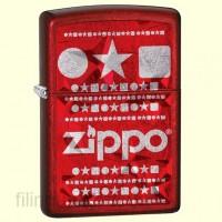 Зажигалка Zippo 28342 Circle Star Square