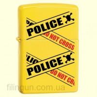 Зажигалка Zippo 28060 Police Caution