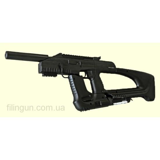 Пневматический пистолет пулемёт МР 661К Дрозд с бункерным заряжанием