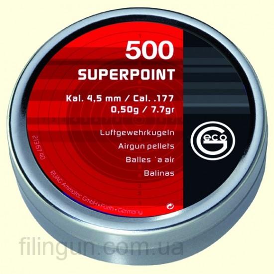 Кулі для пневматичної зброї Geco Superpoint IT
