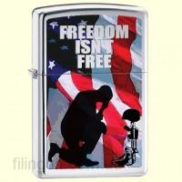 Зажигалка Zippo 28336 Freedom Isn't Free