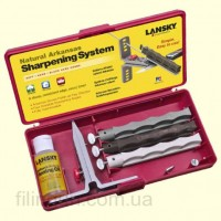 Набор для заточки ножей Lansky Natural Arkansas Sharpening System LKNAT