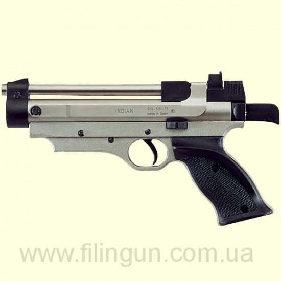 Пневматичний пістолет Cometa Indian нікель