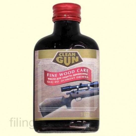 Масло для догляду за деревом Clean Gun Schaftol темно червоне