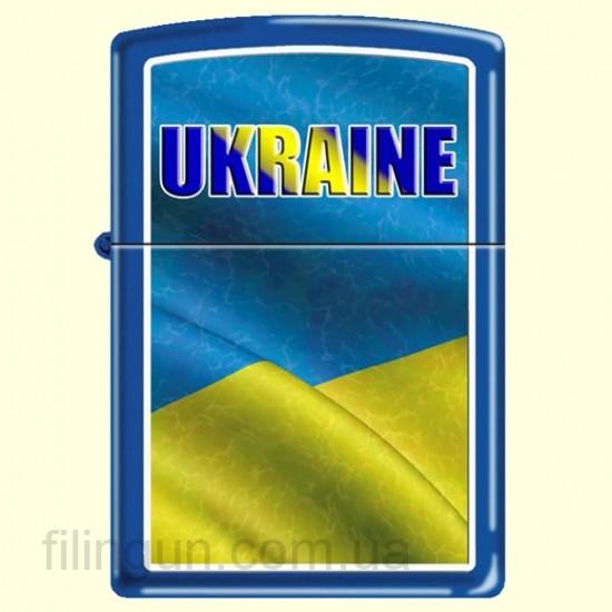 Зажигалка Zippo 229 UW Ukraine Waving Flag