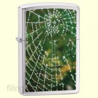 Зажигалка Zippo 28285 Spider Web Rain Drops