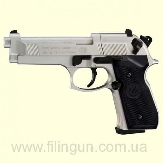 Пневматический пистолет Beretta M 92 FS nicel
