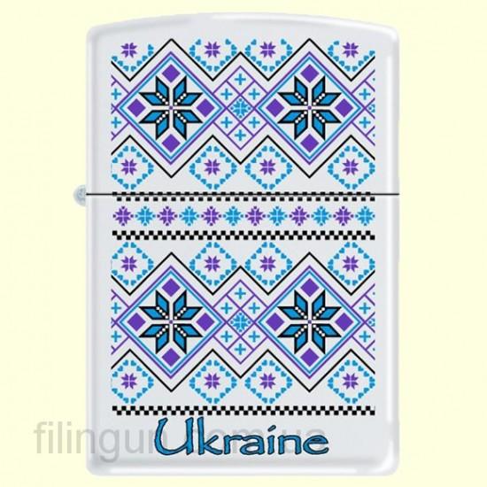 Зажигалка Zippo 214 UP/2 Ukraine Pattern