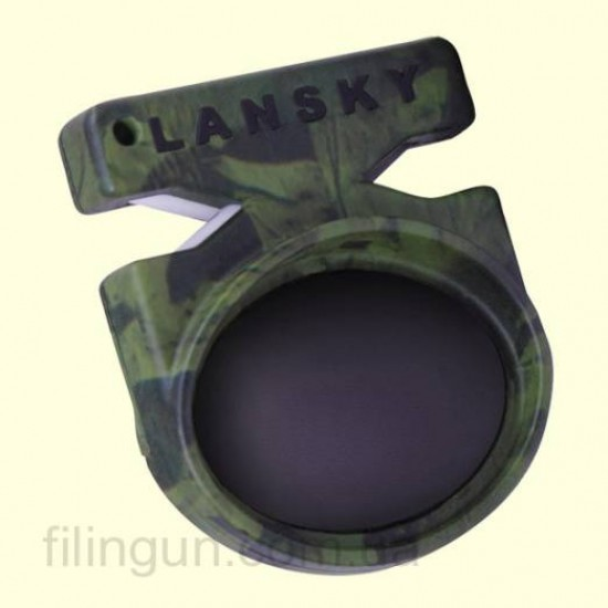Точило Lansky Quick Fix Pocket Sharpener Camo Green LCSTC-CG - фото