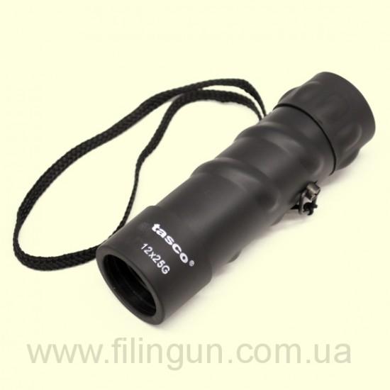 Монокуляр Tasco 12x25 черный - фото