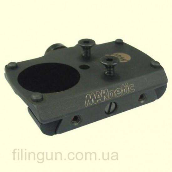Швидкоз'ємне кріплення MAKnetic для прицілу Docter Sight на планку 12 мм