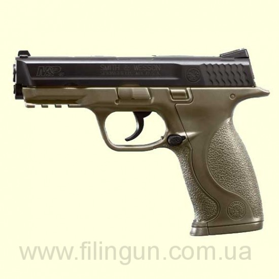 Пневматичний пістолет Smith & Wesson M&P40 DarkEarthBrown
