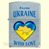 Зажигалка Zippo 207 FU From Ukraine with Love