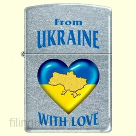 Зажигалка Zippo 207 FU From Ukraine with Love