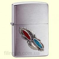 Зажигалка Zippo 20606 Feather Stone