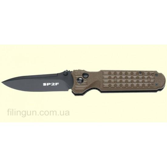 Нож Fox Predator II - 2F Full Auto NATO green FX-448 OD