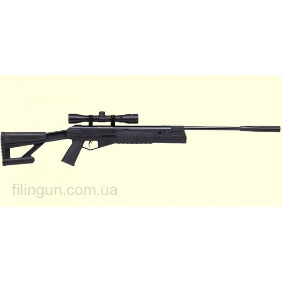 Пневматична гвинтівка Crosman Fury II Blackout RM - фото