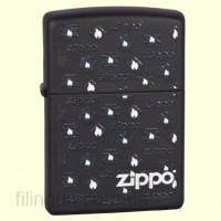 Зажигалка Zippo 218.694 White Flames
