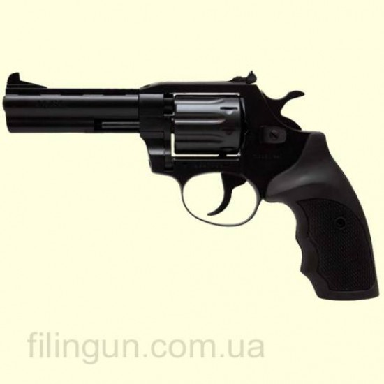 Револьвер під патрон Флобера Alfa мод 441 4 мм ворон/пластик