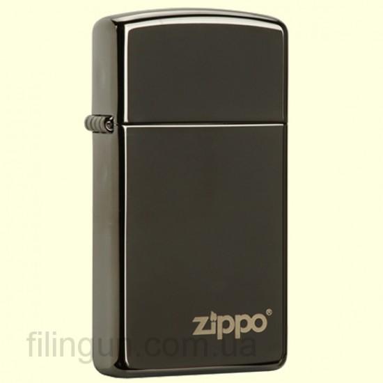 Зажигалка Zippo 28123 ZL Slim Ebony