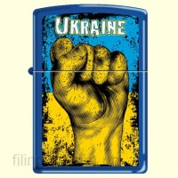 Зажигалка Zippo 229 UF Ukraine Fist