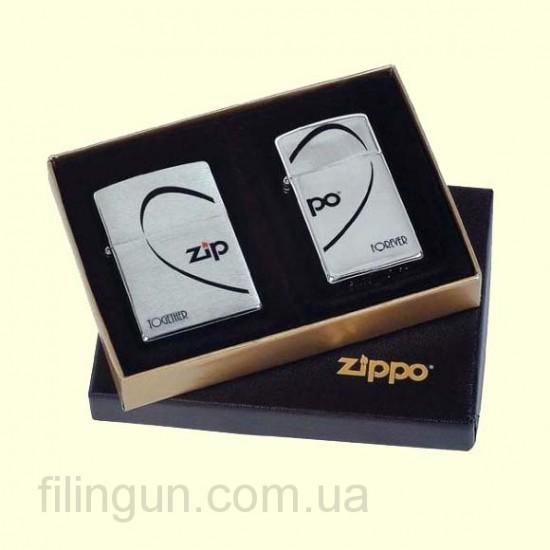 Комплект зажигалок Zippo 290.058 Combo Heart