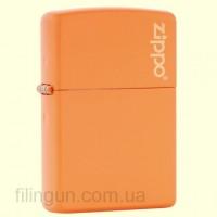 Зажигалка Zippo 231 ZL Orange Matte