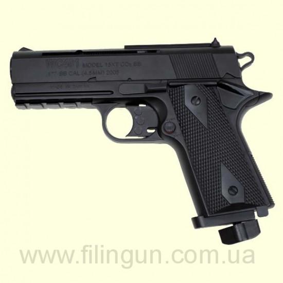 Пневматический пистолет KWC Colt 401 - фото