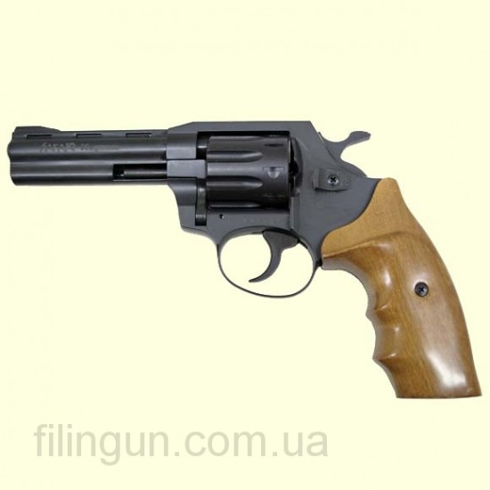 Револьвер под патрон Флобера Safari (Сафари) РФ 440 орех