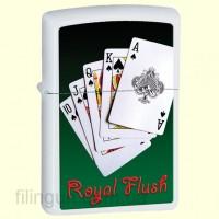 Зажигалка Zippo 28038 Royal Flush