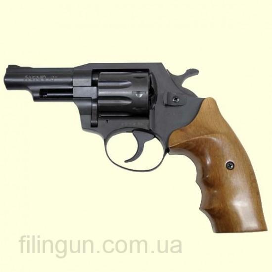 Револьвер под патрон Флобера Safari (Сафари) РФ 430 орех