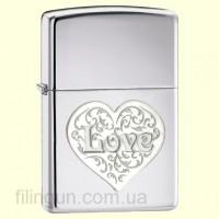 Зажигалка Zippo 24459 DL-Love
