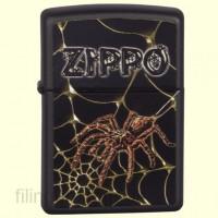 Зажигалка Zippo 218.184 Web and Spider