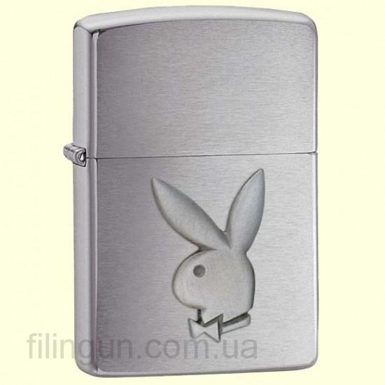 Зажигалка Zippo 200 PB 110 Playboy Rabbit Head - фото