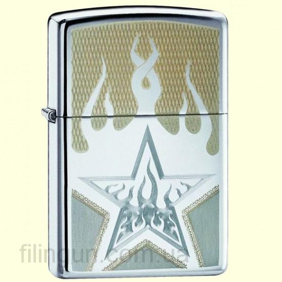 Зажигалка Zippo 21191 Fire Star - фото