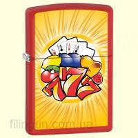 Зажигалка Zippo 28037 Aces & Sevens