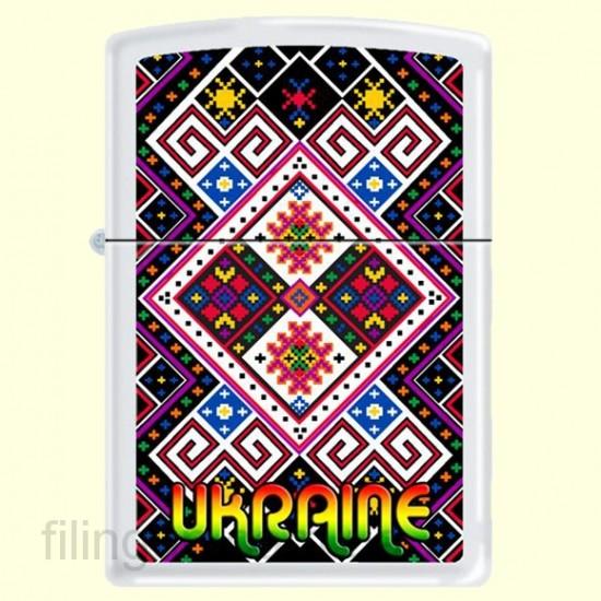 Зажигалка Zippo 214 UP/1 Ukraine Pattern