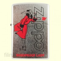 Зажигалка Zippo 28385 Windproof Lady