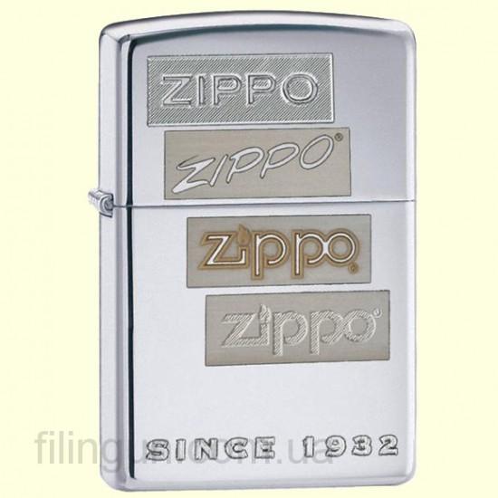 Зажигалка Zippo 24207 Chrome Generations - фото