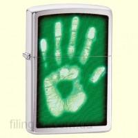 Зажигалка Zippo 28283 Identity Hand Print