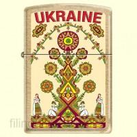 Зажигалка Zippo 207 G UT Ukraine Tree