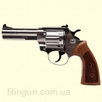 "Револьвер под патрон Флобера Alfa мод 441 Classic 4"" (никель, дерево)"