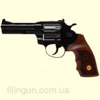 Револьвер под патрон Флобера Alfa мод 441 4 мм ворон/дерево