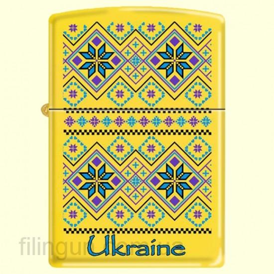 Зажигалка Zippo 24839 UP Ukraine Pattern
