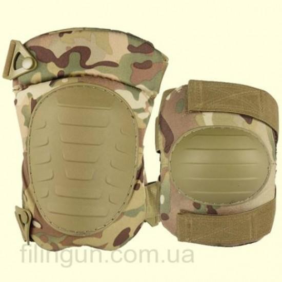 Комплект защиты Skif Tac наколенники и налокотники Multicam
