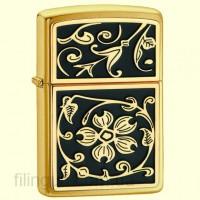 Зажигалка Zippo 20903 Gold Floral