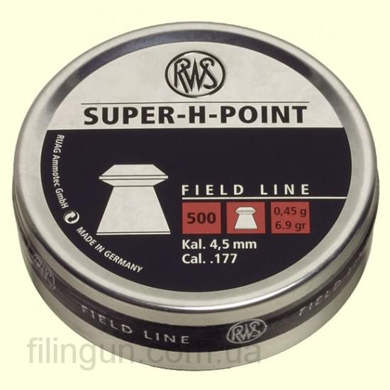 Кулі для пневматичної зброї RWS Super-H-Point