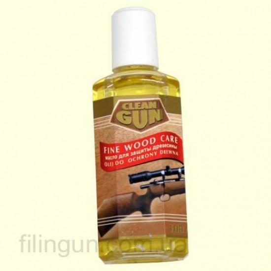 Масло для ухода за деревом Clean Gun Schaftol бесцветное