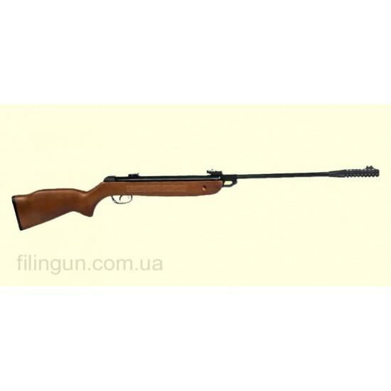 Пневматична гвинтівка Kral 001 Wood Горіх