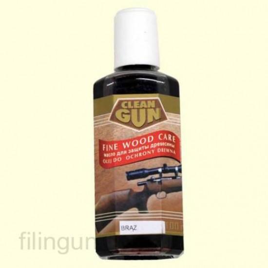 Масло для догляду за деревом Clean Gun Schaftol бронза